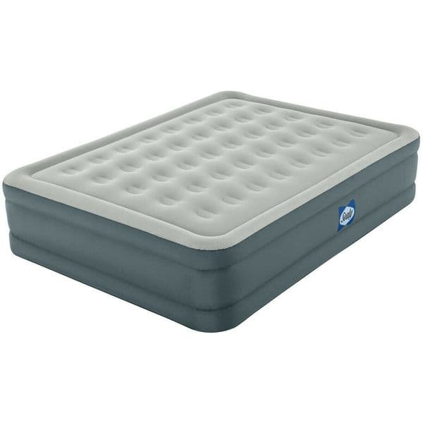 Sealy Fortech Queen Size Airbed with Built-in Pump with Carry Bag